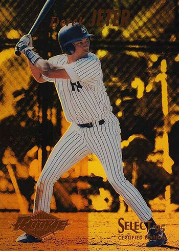 1995 Select Mirror Gold Derek Jeter