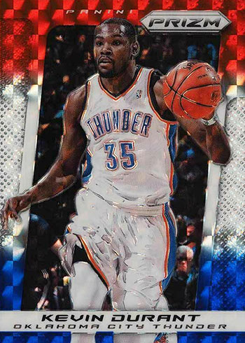 2013-14 Panini Prizm Basketball Red, White and Blue Prizms Kevin Durant
