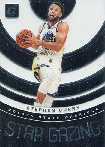 2019-20 Clearly Donruss Basketball Stephen Curry