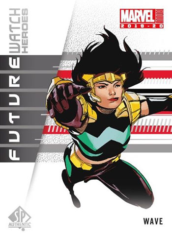 2019-20 Upper Deck Marvel Annual Future Watch Heroes
