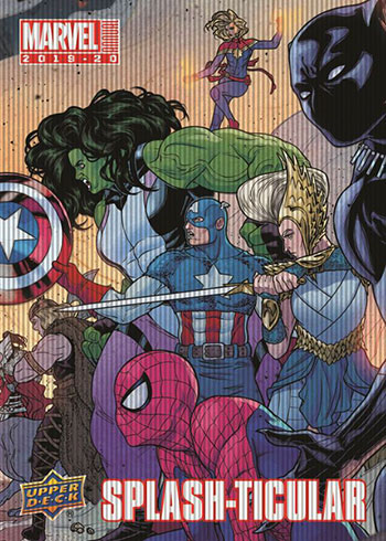 2019-20 Upper Deck Marvel Annual Splash-ticular