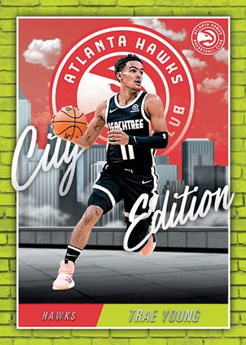 2020-21 Panini NBA Hoops City Edition