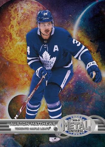 2020-21 SkyBox Metal Universe Hockey 1997-98 Metal