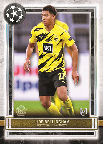 2020-21 Topps UEFA Champions League Museum Collection Soccer Base