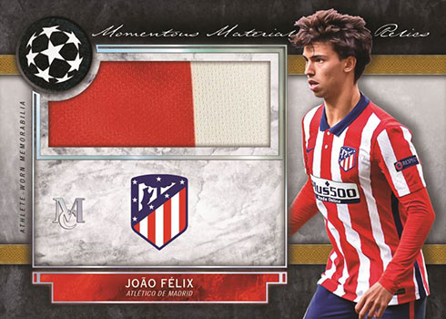 2020-21 Topps UEFA Champions League Museum Collection Momentous Material