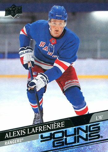 2020-21 Upper Deck Series 1 Hockey Alexis Lafreniere Rookie Card
