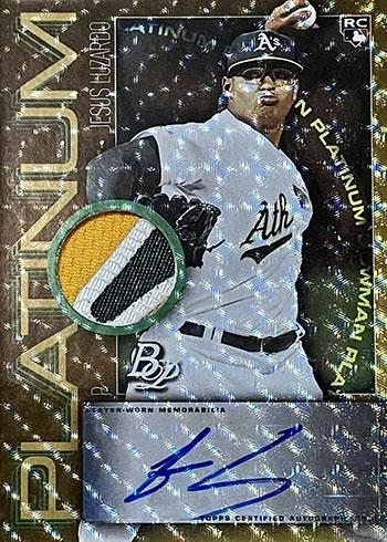 2020 Bowman Platinum Baseball Autograph Relics Superfractor Jesus Luzardo
