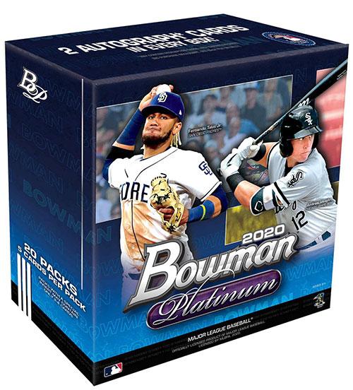 2020 Bowman Platinum Baseball Monster Boxes
