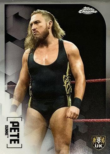2020 Topps Chrome WWE Pete Dunne