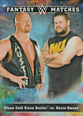2020 Topps Chrome WWE Fantasy Matchups