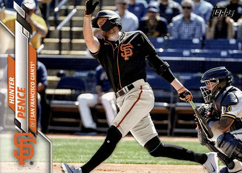 2020 Topps Update Series Baseball Hunter Pence