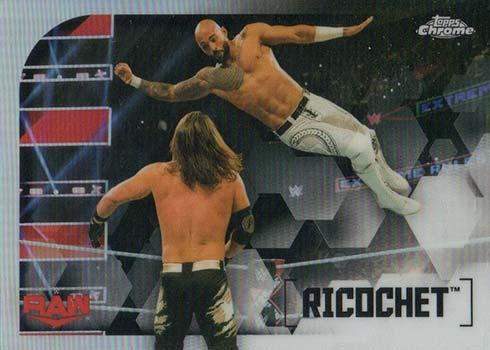 2020 Topps Chrome WWE Image Variations Ricochet