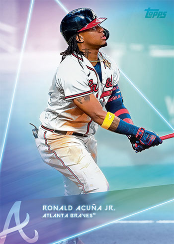2020 Topps X Steve Aoki Baseball Ronald Acuna Jr.