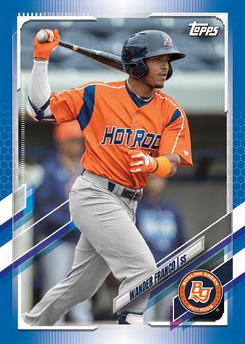 2021 Topps Pro Debut Baseball Blue