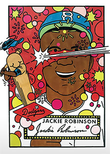 Topps Project 2020 339 Jackie Robinson by Ermsy