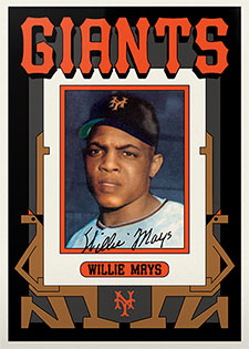 Topps Project 2020 346 Willie Mays by Grotesk