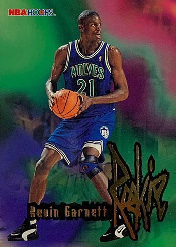 1995-96 Hoops Kevin Garnett Rookie Card