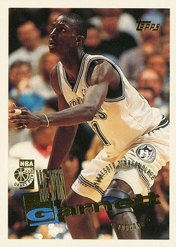1995-96 Topps Kevin Garnett Rookie Card