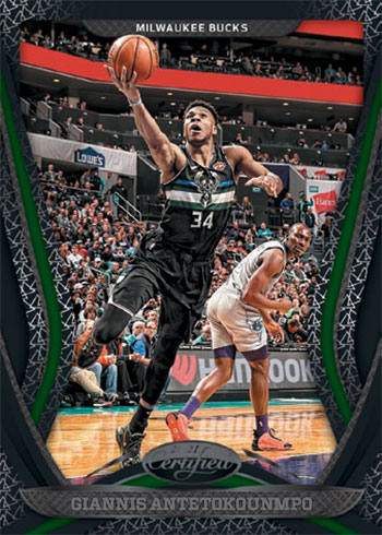 2020-21 Panini Certified Basketball Mirror Black