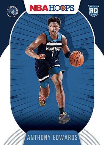 2020-21 Panini NBA Hoops Anthony Edwards
