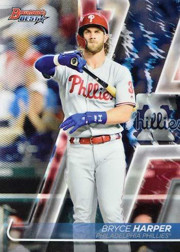 2020 Bowman's Best Baseball Bryce Harper