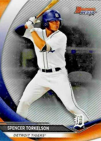 2020 Bowman's Best Baseball Spencer Torkelson