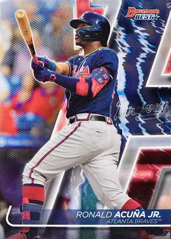 2020 Bowman's Best Baseball Ronald Acuna Jr.