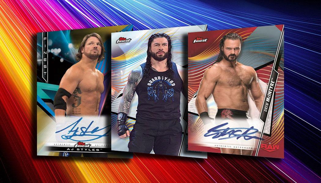 John Morrison WWE 2020 Topps Finest Base Set Wrestling Card