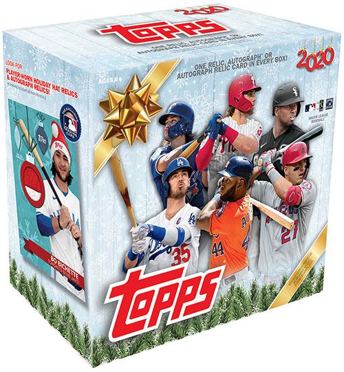 2020 Topps Walmart Holiday Baseball Mega Box