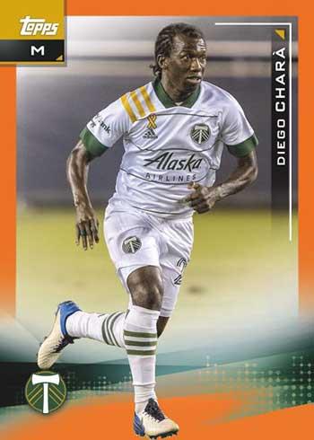 2021 Topps MLS Orange