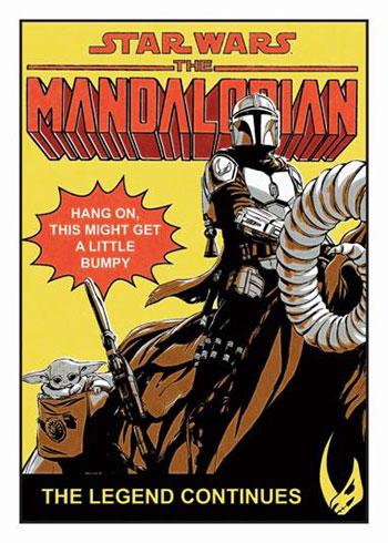 2021 Topps Star Wars: The Mandalorian Season 2 Comic Covers