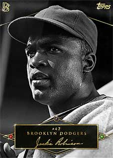 Topps Project 2020 377 Jackie Robinson by Ben Baller