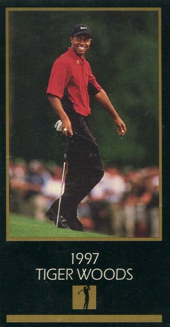 1997-98 Grand Slam Ventures Tiger Woods XRC