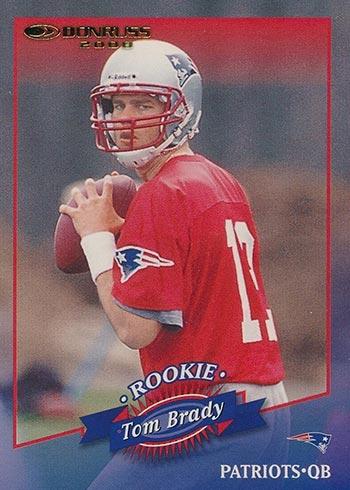 2000 Donruss Tom Brady Rookie Card