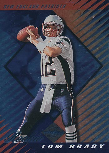 2000 Leaf Limited Tom Brady Rookie Card