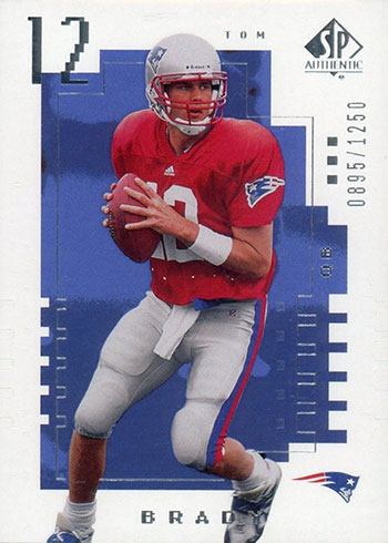 Most Valuable Tom Brady Rookie Card Rankings and Checklist
