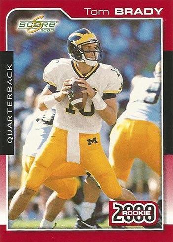 2000 Score Tom Brady Rookie Card