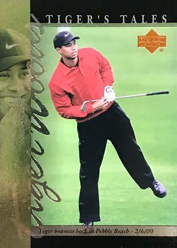 2001 Upper Deck Golf Tiger's Tales