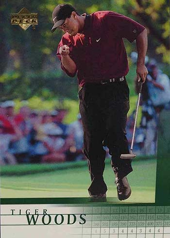 2001 Upper Deck Tiger Woods Rookie Card