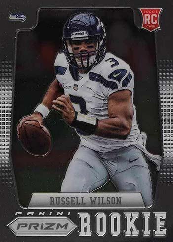 2012 Panini Prizm Football Russell WIlson Rookie Card