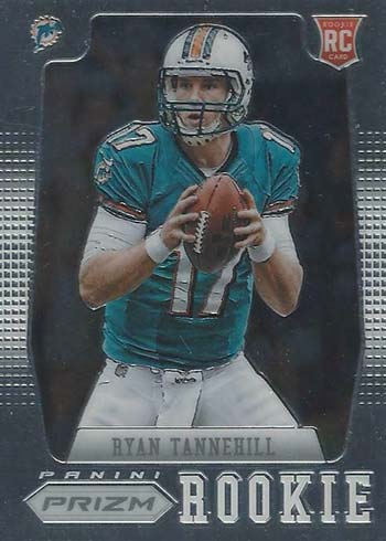 2012 Panini Prizm Football Ryan Tannehill Rookie Card