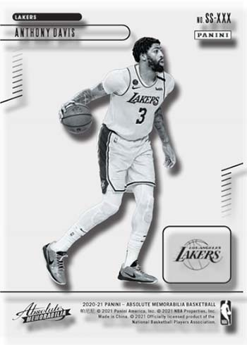2020-21 Panini Absolute Basketball Glass