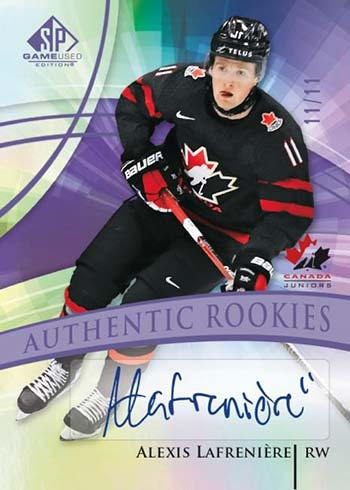 2020-21 SP Game Used Hockey Base Autograph