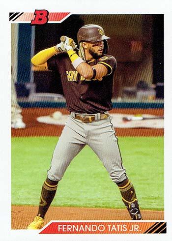 2020 Bowman Heritage Baseball Fernando Tatis Jr.