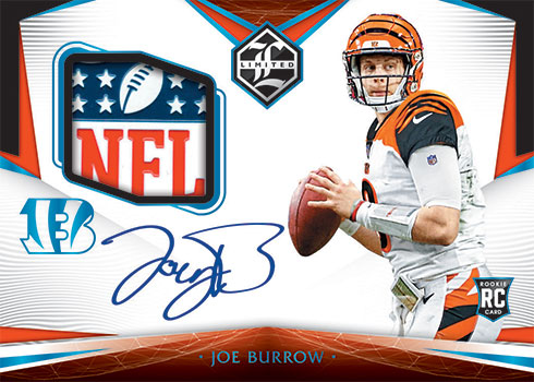 2020 Panini Limited Football Rookie Patch Autographs