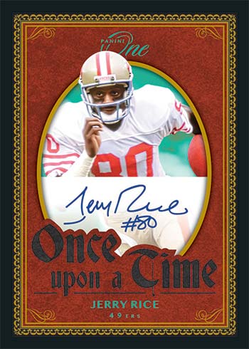 2020 Panini One Football Once Upon a Time