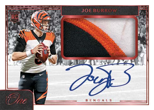 2020 Panini One Football Rookie Patch Autographs