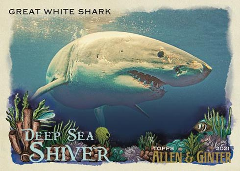 2021 Topps Allen & Ginter Baseball Deep Sea Shiver