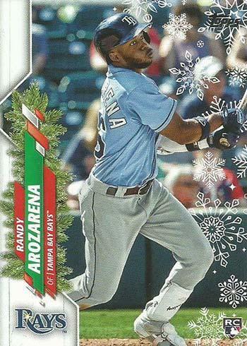 2020 Topps Walmart Holiday Baseball Randy Arozarena RC