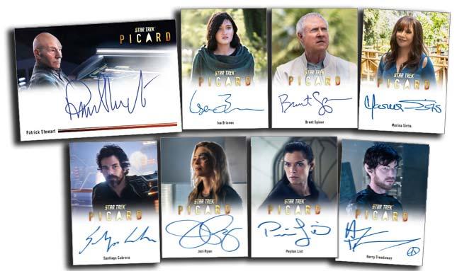 2021 Rittenhouse Picard Season 1 Autographs